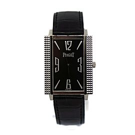 Piaget Black Tie 18K White Gold Watch 90300