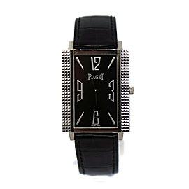 Piaget Black Tie 18K White Gold Watch 90300