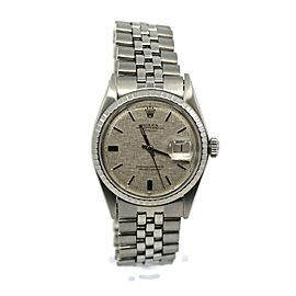 Rolex Datejust Stainless Steel Watch 1603