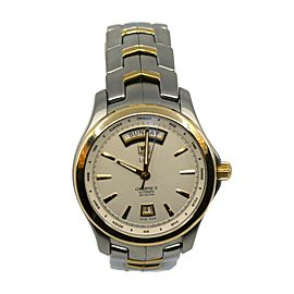 Tag Heuer Link Cal 5 Day Date 18K/Stainless Steel Watch WJF2050