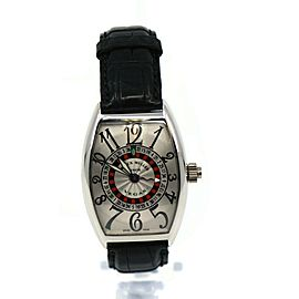Franck Muller Vegas 18K White Gold Watch 5850