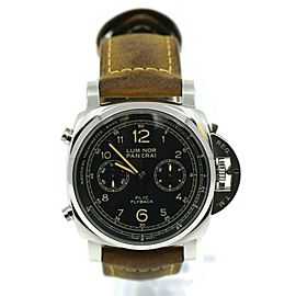 Panerai Luminor PCYC 3 Day Flyback Chronograph Stainless Steel Watch PAM653