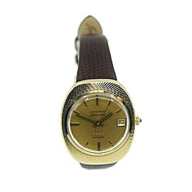 Longines Admiral 5 Star Automatic 14K Yellow Gold Watch