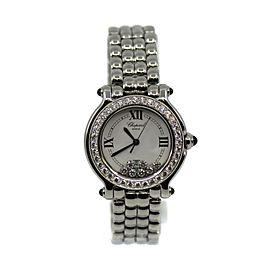 Chopard Happy Sport Diamond Stainless Steel Watch 278280-2004