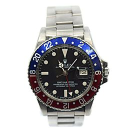 Rolex GMT-Master Stainless Steel Watch 1675