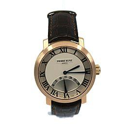 Pierre Kunz Retrograde 18K Rose Gold Watch PKA001