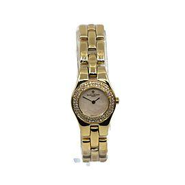 Baume & Mercier Linea Diamond 18K Yellow Gold Watch MV045153