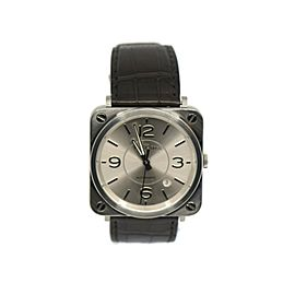 Bell & Ross Aviation Stainless Steel Watch BRS-92