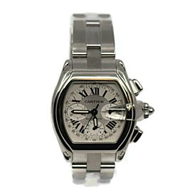 Cartier Roadster Chronograph Stainless Steel Watch 2618