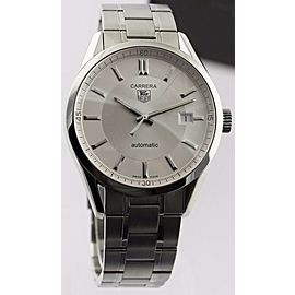 TAG HEUER CARRERA WV211A.BA0787 AUTOMATIC MENS SILVER LUXURY WATCH