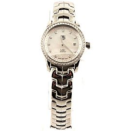TAG HEUER LADIES LINK WJF1319.BA0572 DIAMOND PEARL SWISS QUARTZ LUXURY WATCH