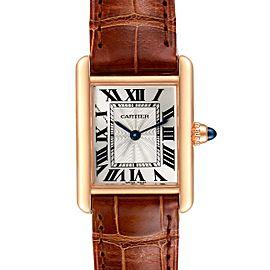 Cartier Tank Louis 18k Rose Gold Mechanical Ladies Watch WGTA0010