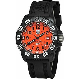 BRAND NEW LUMINOX 3059.SET SCOTT CASSELL MULTI STAP 44MM ORANGE SWISS WATCH