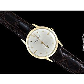 1961 AUDEMARS PIGUET Calatrava Vintage Mens 18K Gold Watch - Warranty
