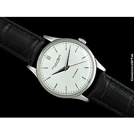1955 IWC Vintage Mens Full Size Cal. 852 Stainless Steel Watch - Mint - Warranty