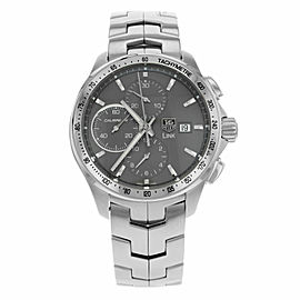 TAG HEUER LINK CAT2013.BA0952 AUTOMATIC CHRONOGRAPH MENS GRAY LUXURY SWISS WATCH