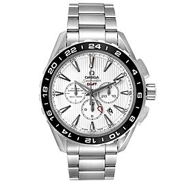 Omega Seamaster Aqua Terra GMT Mens Watch 231.10.44.52.04.001