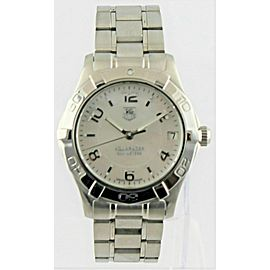 TAG HEUER LADIES AQUARACER WAF1311.BA0817 32MM MIDSIZE MOTHER OF PEARL WATCH