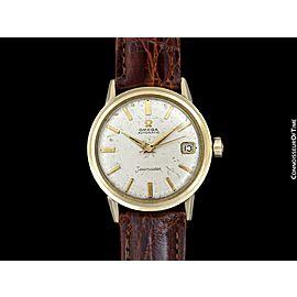 1962 OMEGA SEAMASTER Vintage Mens Rare Cal. 560 14K Gold Filled Watch - Only 300