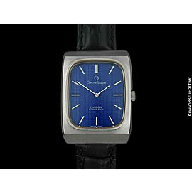 1973 OMEGA Constellation Chronometer Rare Large Vintage Mens SS Steel - Mint