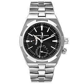 Vacheron Constantin Overseas Dual Time Steel Mens Watch 7900V