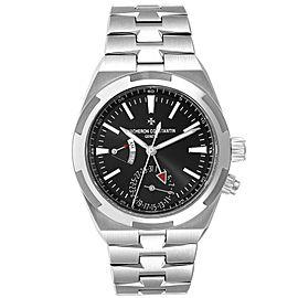 Vacheron Constantin Overseas Dual Time Steel Mens Watch