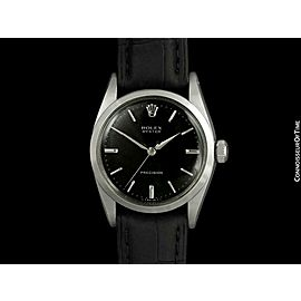 1957 ROLEX OYSTER Precision Vintage Mens SS Steel Watch