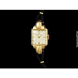 1946 Rolex Vintage Ladies 18K Rose Gold Dress Watch -