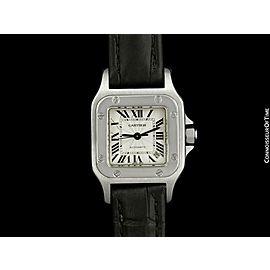 Cartier Santos Vendome Ladies Stainless Steel Watch -