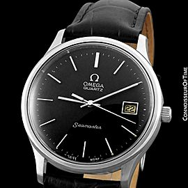 1977 OMEGA SEAMASTER Vintage Mens Full Size SS Steel Watch