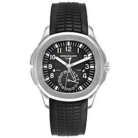 Patek Philippe Aquanaut Travel Time Steel Mens Watch 5164