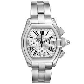 Cartier Roadster XL Chronograph Automatic Steel Mens Watch W62019X6