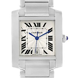 Cartier Tank Francaise W51002Q3 28mm Mens Watch