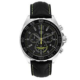 Tag Heuer Formula 1 Aston Martin Chronograph Steel Watch CAZ101P