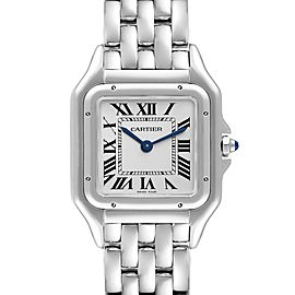 Cartier Panthere Midsize 27mm Steel Ladies Watch