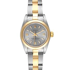 Rolex Oyster Perpetual Nondate Steel Yellow Gold Watch 76183