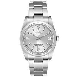 Rolex Oyster Perpetual 36 Silver Dial Steel Mens Watch