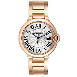 Cartier Ballon Bleu 36mm Automatic Rose Gold Ladies Watch