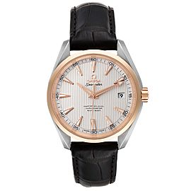 Omega Seamaster Aqua Terra Steel Rose Gold Watch