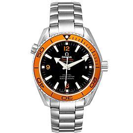 Omega Seamaster Planet Ocean Orange Bezel Watch