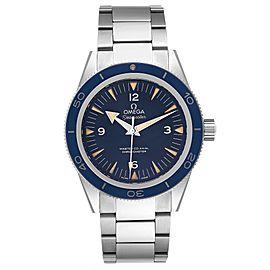 Omega Seamaster 300 Blue Dial Titanium Watch