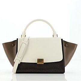 Tricolor Trapeze Bag Leather Small