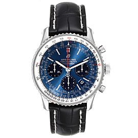 Breitling Navitimer 01 Blue Dial Limited Edition Mens Watch