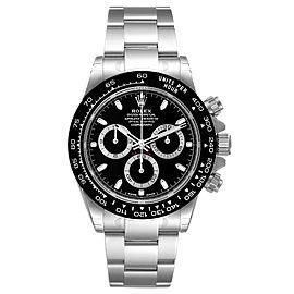 Rolex Cosmograph Daytona Ceramic Bezel Black Dial Mens Watch