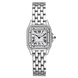 Cartier Panthere Small Steel Diamond Ladies Watch
