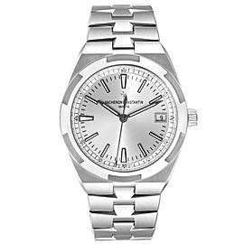 Vacheron Constantin Overseas Silver Dial Steel Mens Watch