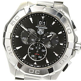 TAG HEUER Stainless Steel/Stainless Steel Aqua racer Watch RCB-87