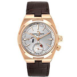 Vacheron Constantin Overseas Dual Time Rose Gold Mens Watch