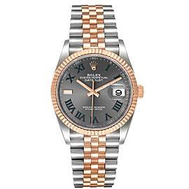 Rolex Datejust 36 Wimbledon Dial Steel EverRose Gold Watch
