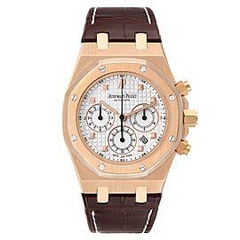 Audemars Piguet Royal Oak 18K Rose Gold Mens Watch